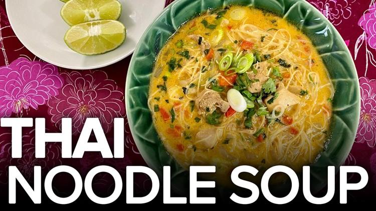 Recipe: Chef Kevin Belton's Thai Noodle Soup