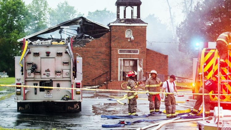 Drive for 3 burned African American churches tops $2 million
