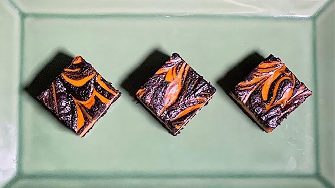 Recipe: Halloween Swirl Brownies