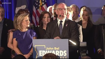Local politics turn national for Louisiana's governor runoff