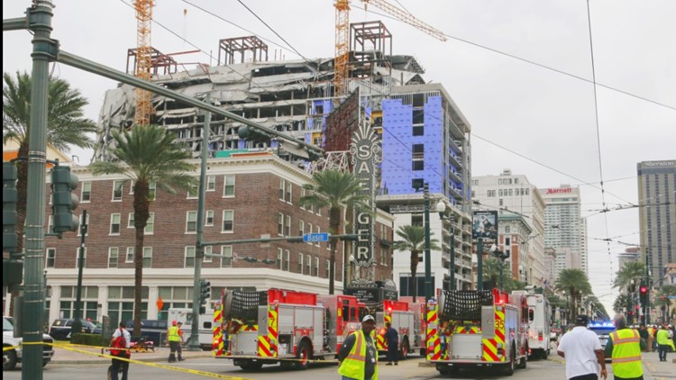 Massive cranes rushed to New Orleans to aid in rescue attempt