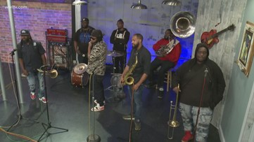 Catching Up with the Hot 8 Brass Band