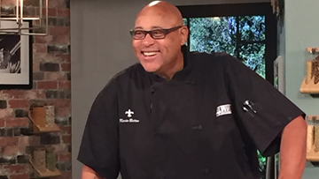 Recipe: Chef Kevin Belton's Shrimp and Orzo Salad