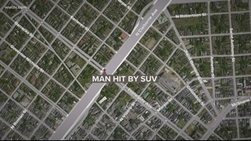 Pedestrian dead after hit-and-run on North Claiborne Avenue