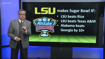 The case for LSU to play in the Sugar Bowl