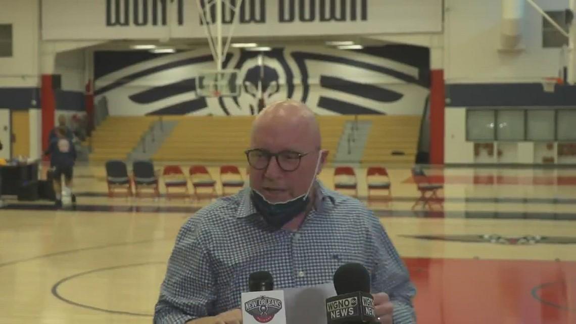 GM David Griffin provides update on Zion Williamson