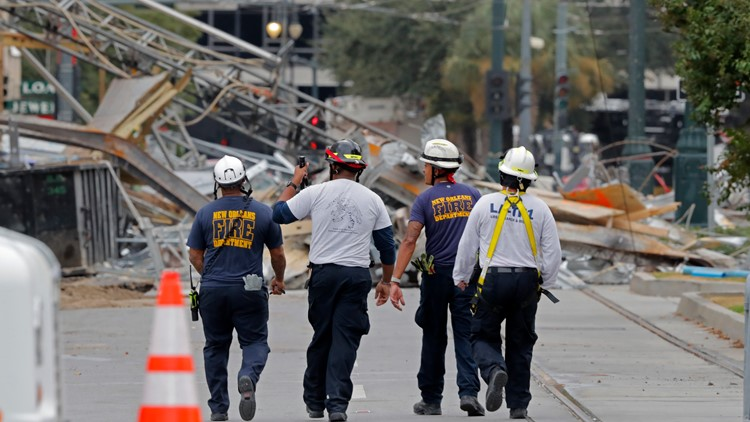 Rescue searches end at Hard Rock hotel collapse site
