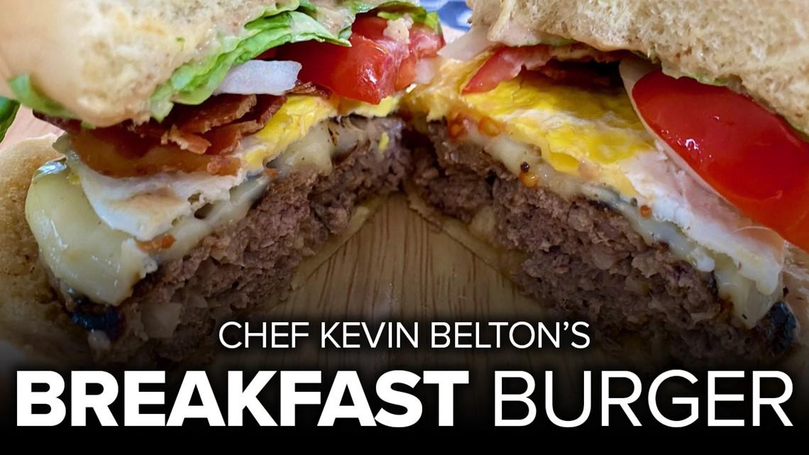 Recipe: Chef Kevin's Breakfast Burger