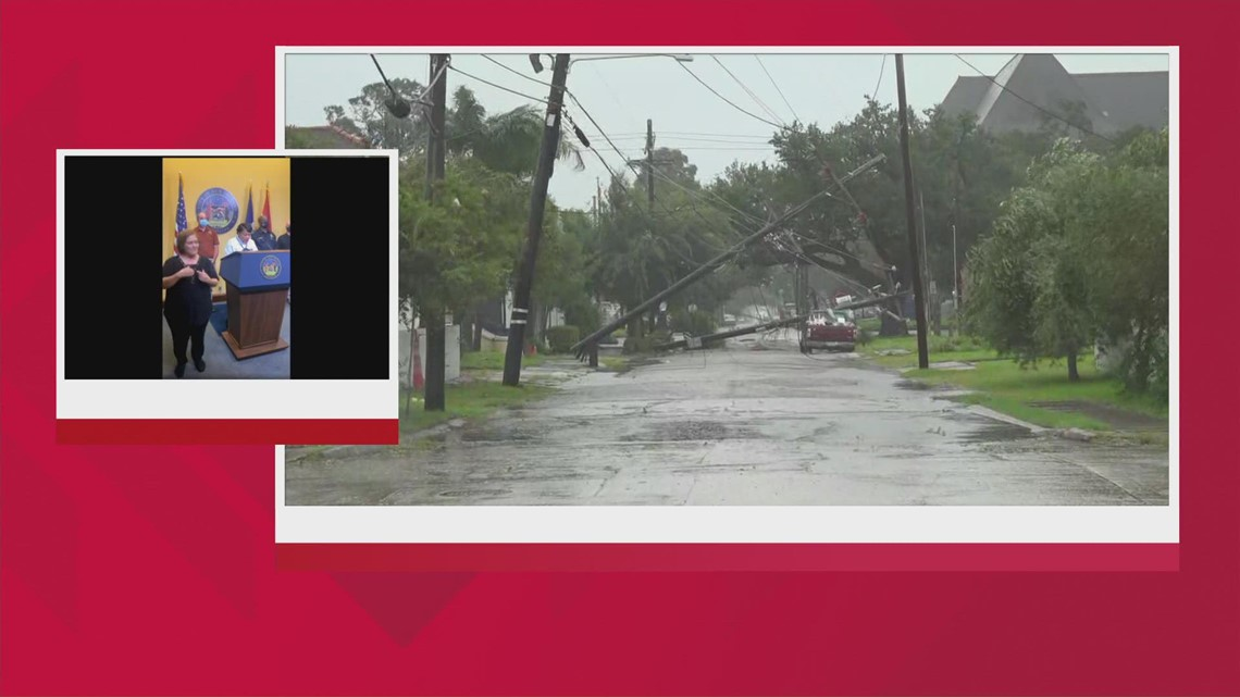 Mayor Cantrell says crews continue to work 'very intentionally' in aftermath of Hurricane Ida