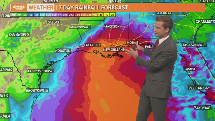 Tropical depression forms off East Coast plus watching for development in the Gulf