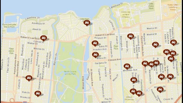 nopd crime map