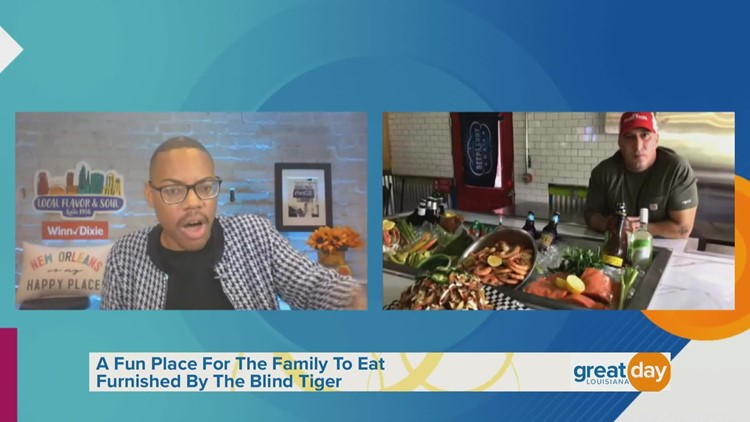 The Blind Tiger Restaurant Part 1