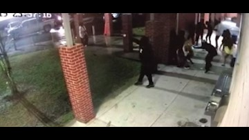 New video shows gunmen open fire during after-hours party at elementary school