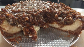 Recipe: Chef Kevin Belton's Pecan Pie Cheesecake