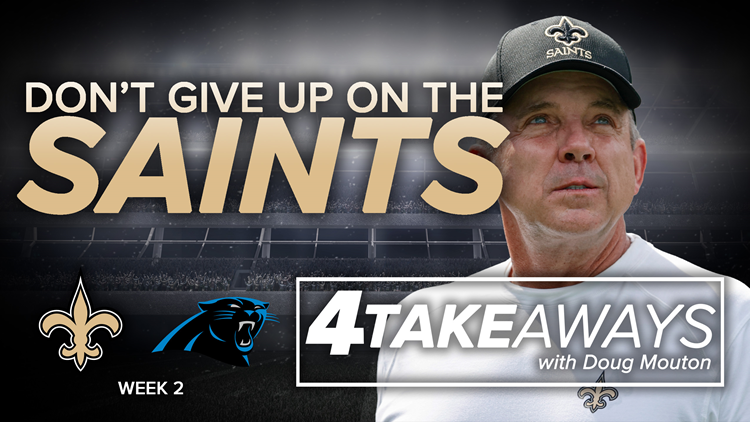 4 Takeaways: Don't give up on the Saints yet