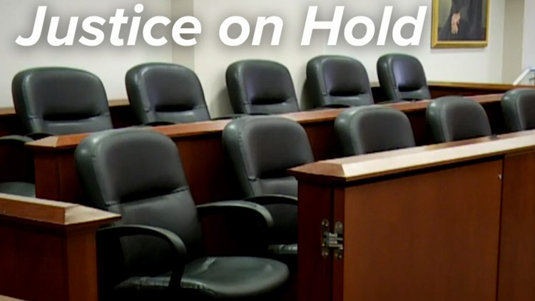 Thousands of criminal cases on COVID hold as victims, defendants await justice