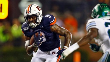 Auburn's offense sluggish in 24-6 win over Tulane