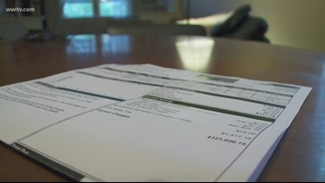 Woman gets $121,000 water bill from New Orleans Sewerage & Water Board