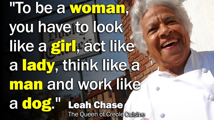 Leah Chase saying
