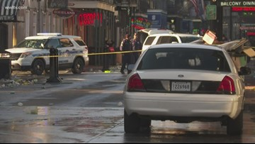 Man injured in shootout with police threatened strangers before being shot