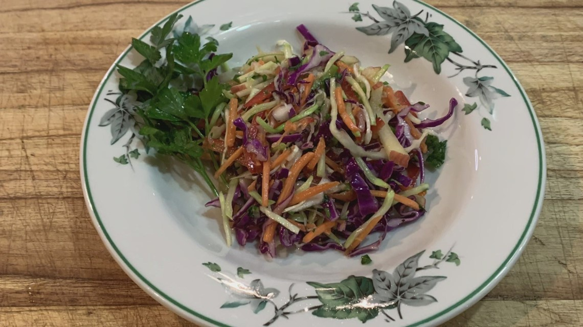 Citrus honey apple coleslaw recipe from the Southern Food & Beverage Museum