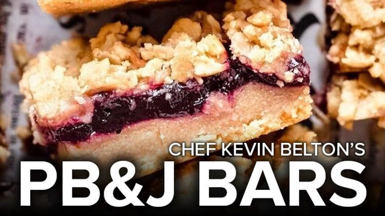 Recipe: Chef Kevin Belton's Peanut Butter & Jelly Bars