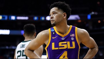 LSU falls to Michigan St. in Sweet 16 matchup