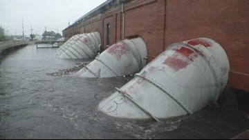 S&WB: 4 drainage pumps lost power during Thursday's storms