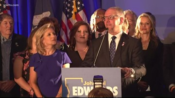 '4 more years' chant greets Gov. John Bel Edwards ahead of runoff