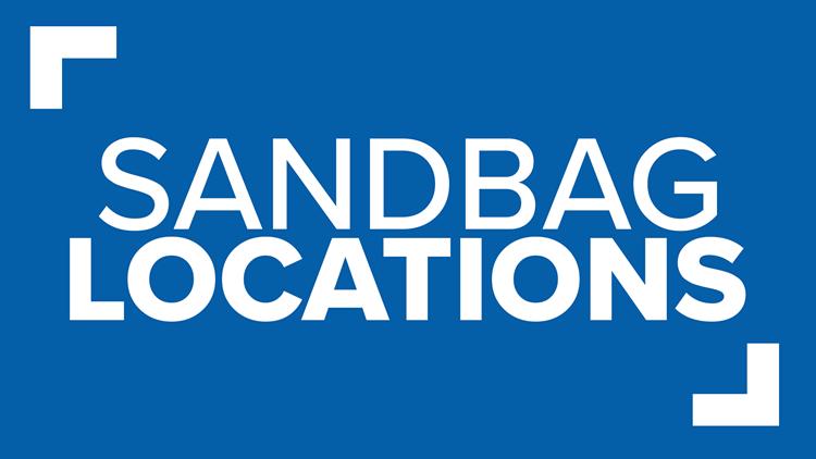 List: Sandbag locations parish-by-parish