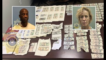 Slidell pair arrested for printing money