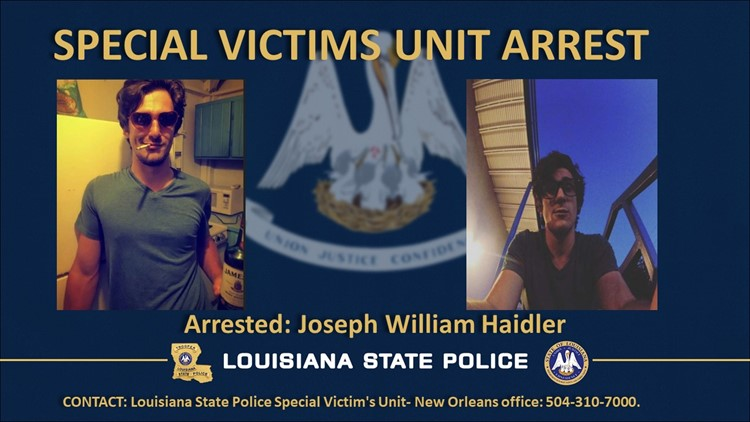 Mandeville man used Snapchat to solicit child porn while awaiting trial for other child sex crimes, police say