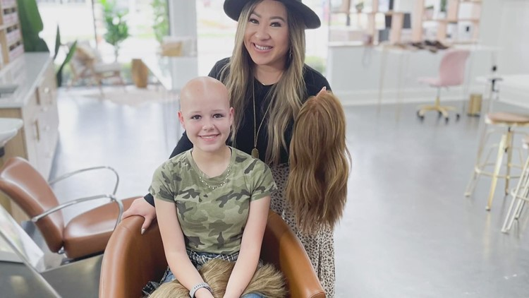 Metairie women helping children one wig at a time
