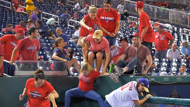 Padres, Nats recall harrowing scene after shots outside park