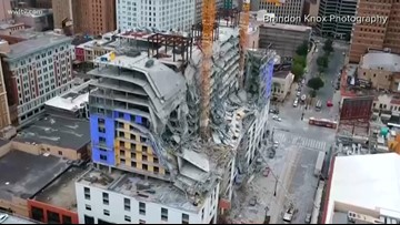Road closures, traffic changes due to Hard Rock Hotel collapse