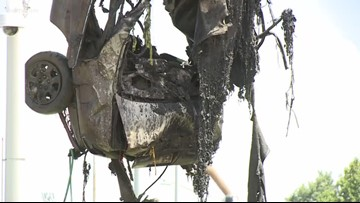 Car recovered from Lafitte Canal