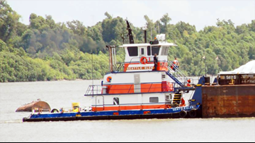 Search suspended for missing tugboat captain