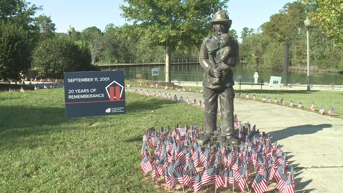 Slidell honors those we lost in 9/11, 20 years later