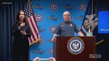 Governor Edwards Monday coronavirus update