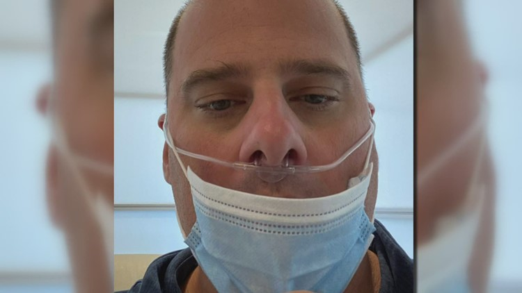 He was waiting for more data on the COVID vaccine, now his breathing may never be the same