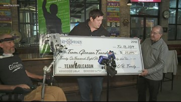 Local brewery teams up with Team Gleason, donates $27,000 to foundation