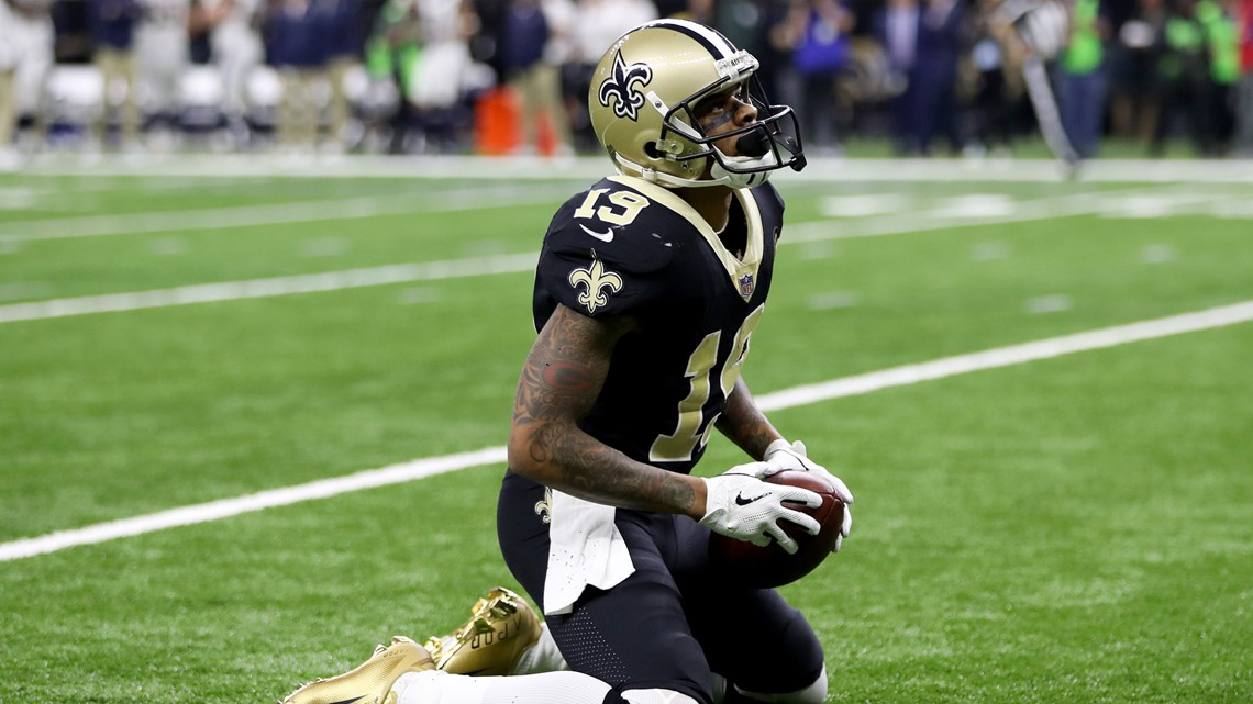 55e39360bb Images from the New Orleans Saints  heartbreaking loss to the Los ...