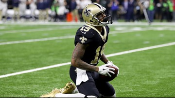Photos from the Saints' heartbreaking loss to the Rams