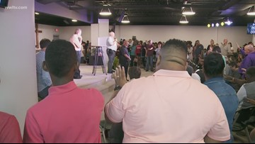 Packed prayer vigil for West Bank pastor killed trying to help driver