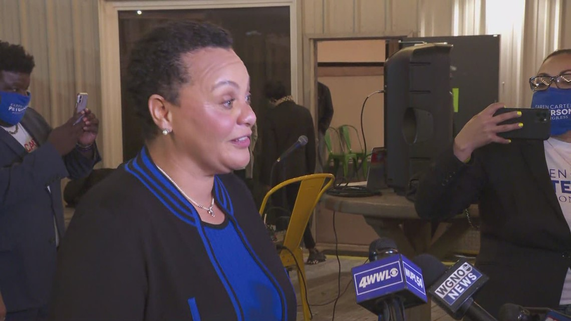 'I'm that woman,' says Karen Carter Peterson to Louisiana's 2nd Congressional District