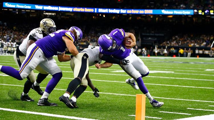 Saints defense preseason Vikings