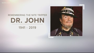 Services for Dr. John announced