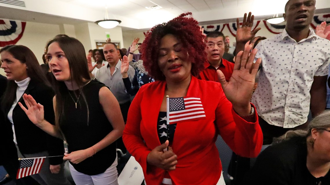 Study suggests only 1 in 4 people in Louisiana could pass a U.S. citizenship test