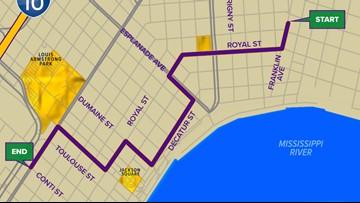 Krewe Boheme parade route
