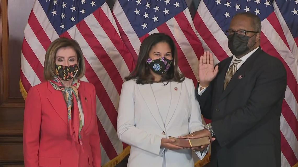 Troy Carter sworn in as U.S. Congressman from Louisiana